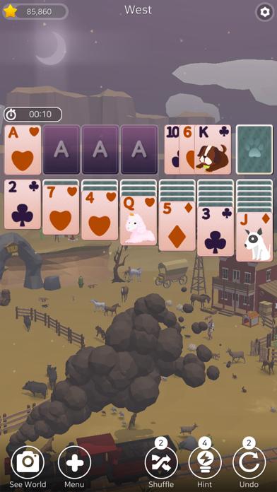 Solitaire Planet Zoo screenshot 9