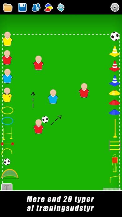 Screenshot for Taktisk Tavle: Fodbold++ in Denmark App Store