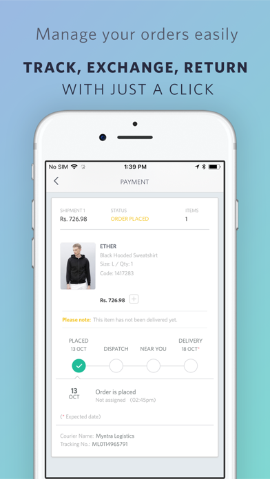 Screenshot for Myntra - Fashion Shopping App in Spain App Store