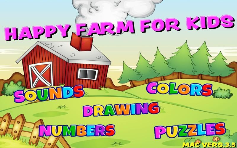 Happy Farm For Kids screenshot 2