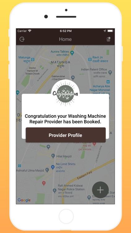 WashingMachine Repair Customer screenshot-6