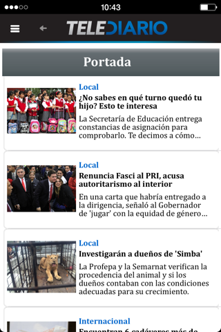 Telediario - náhled