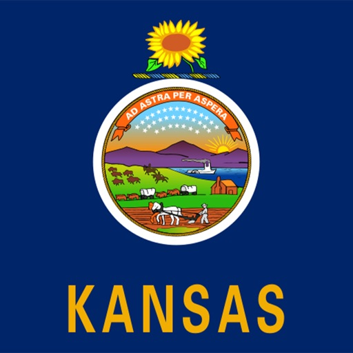 Kansas emoji - USA stickers