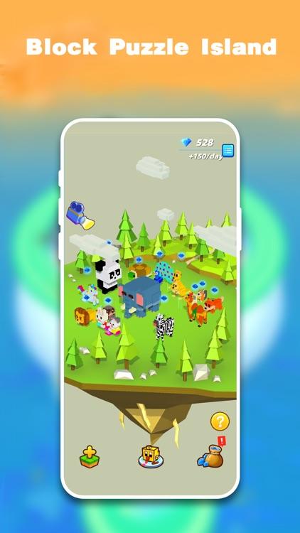 Fire Cubes 3D - Craft island screenshot-0
