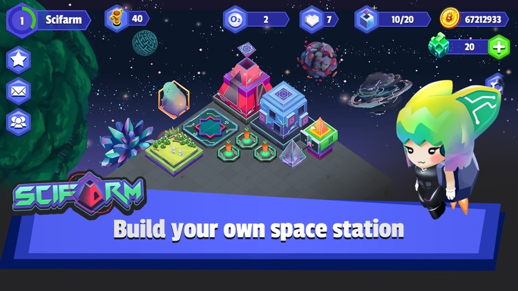 SciFarm - Space Zoo & Farming screenshot-0