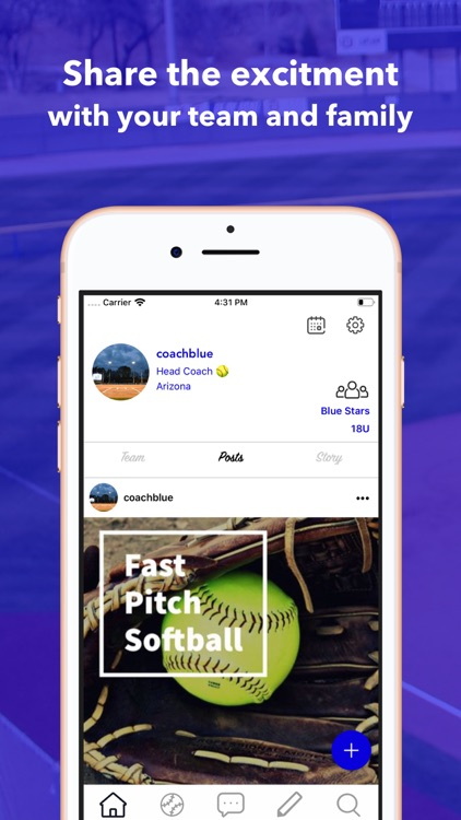 CleatedUp for softball coach