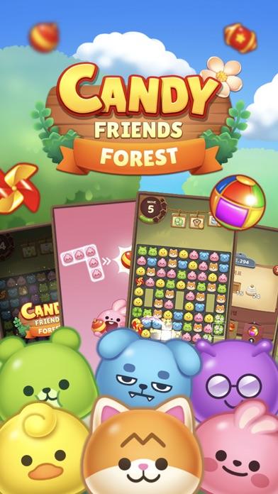 Candy Friends Forest screenshot 1