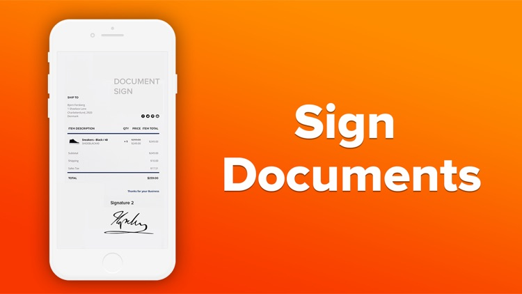 Sign In And Send PDF Documents screenshot-5