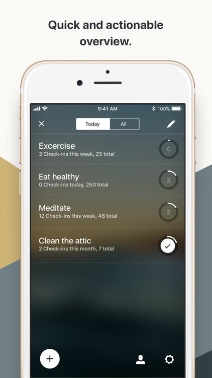 Today Habit tracker screenshot-4