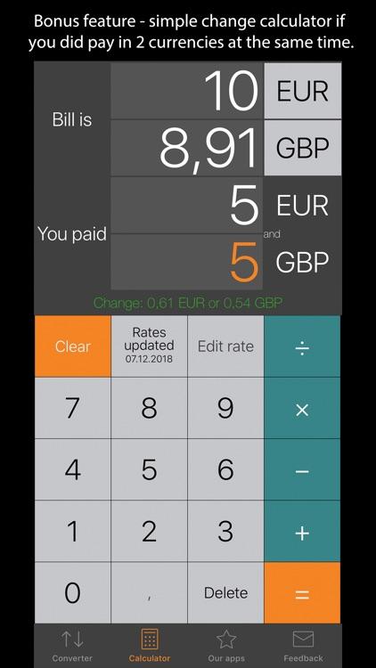 Currency Converter Plus screenshot-3