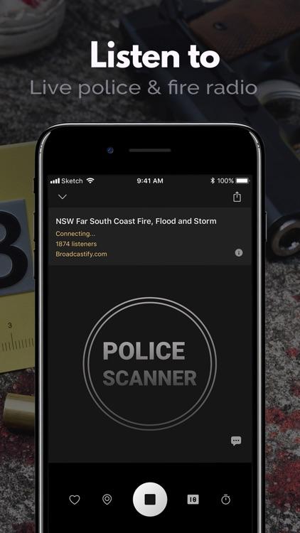 Police Scanner, Fire Radio screenshot-0