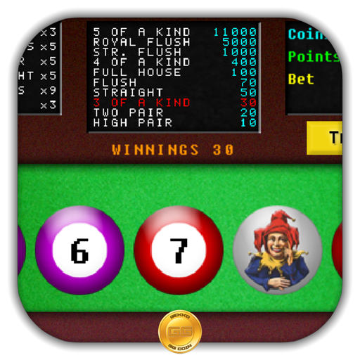 Video Poker : Triple Cash