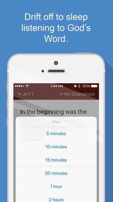 Bible Audio Screenshot