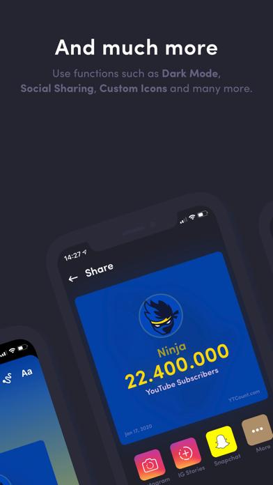 YTCount – Subscriber Countのおすすめ画像4