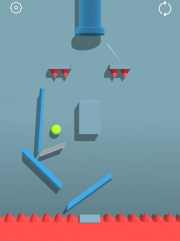 Bounced Ball 3D screenshot #2