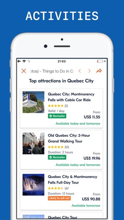 Quebec City Travel Guide screenshot-5