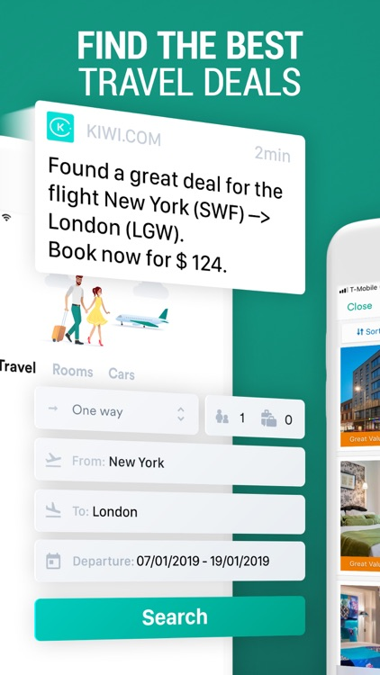 Kiwi.com: Cheap Travel Deals