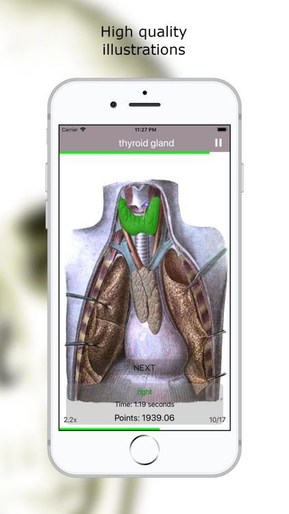 Anatomy Quiz Lite screenshot-5