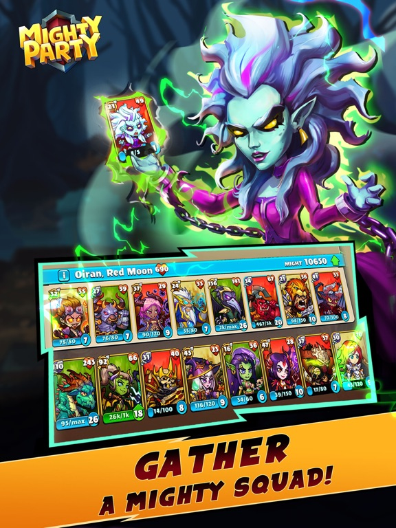 Mighty Party: Battle Heroes screenshot 9