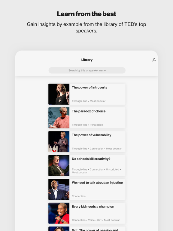 TED Masterclass for Orgs screenshot 8