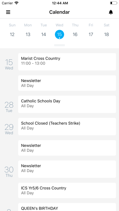 Marist Herne Bay School screenshot 2