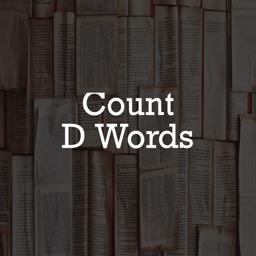 Count D Words