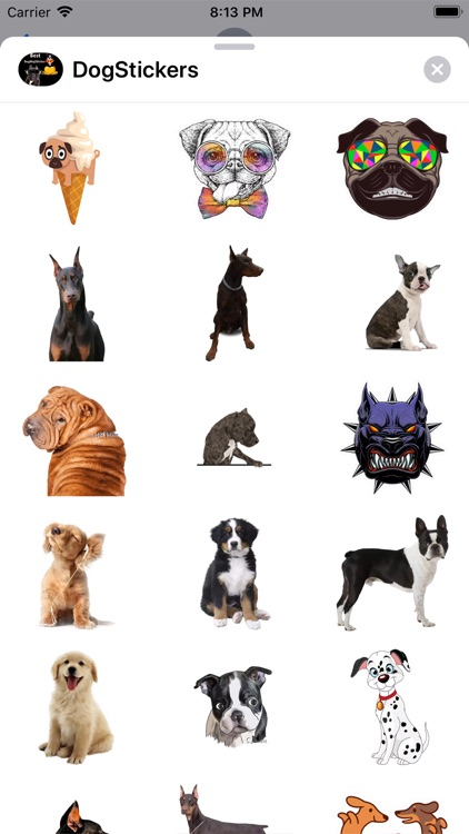 DogMoji - Dog Sticker & Emojis screenshot-4