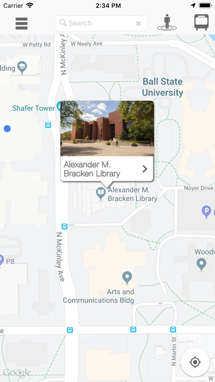 Ball State Campus Map screenshot-4