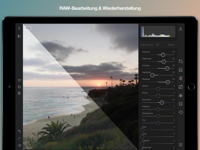 Darkroom: Foto- & Video-Editor Screenshot