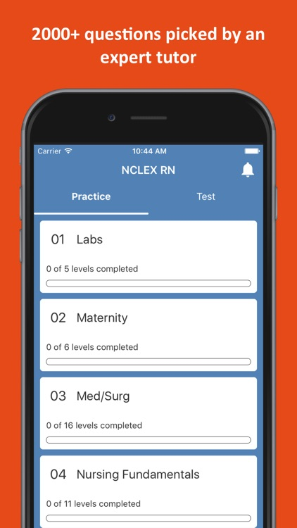 NCLEX RN Practice Test screenshot-0