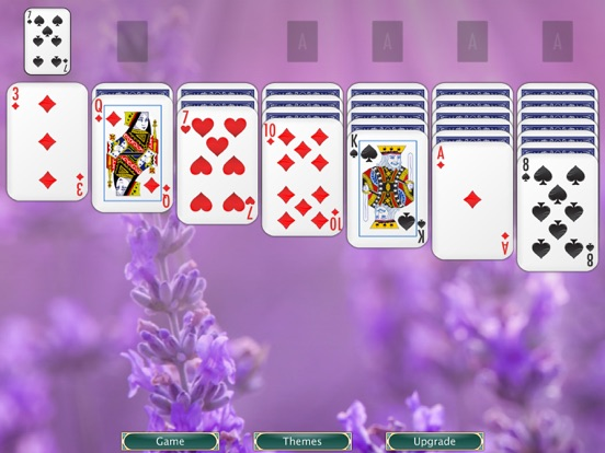 Solitaire screenshot three