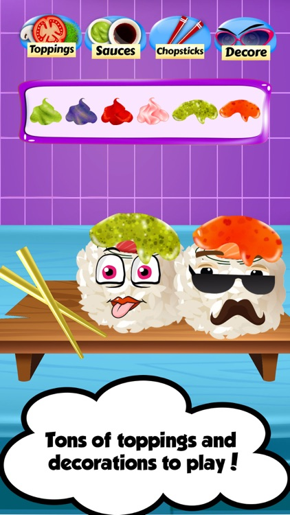 Ramen Sushi Bar - Sushi Maker screenshot-3