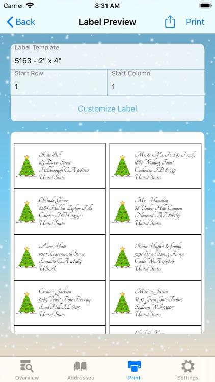 The Christmas Card List screenshot-4