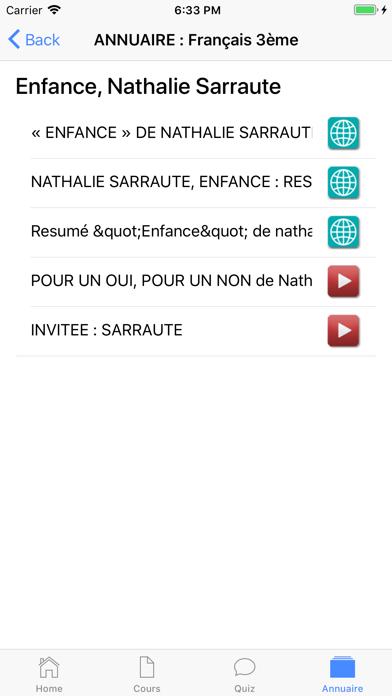 Français 3ème screenshot 7