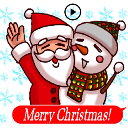 Animated Happy Santa Claus