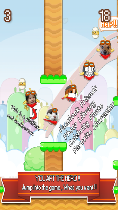 Snappy Chicks : Flappy Friends screenshot one