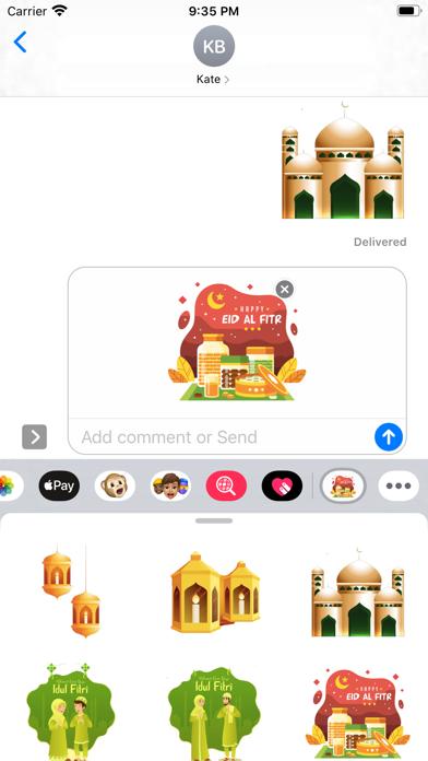 Ramadan Kareem Stickers screenshot 1