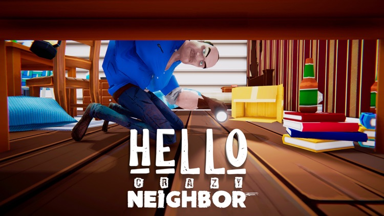 Hello Crazy Neighbor screenshot-3