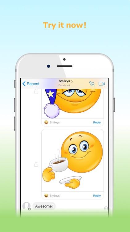 Smileys: New Emojis screenshot-4