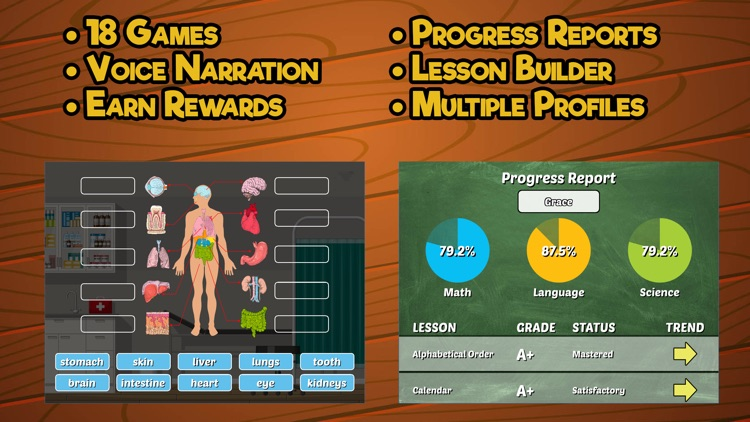 Second Grade Learning Games screenshot-4