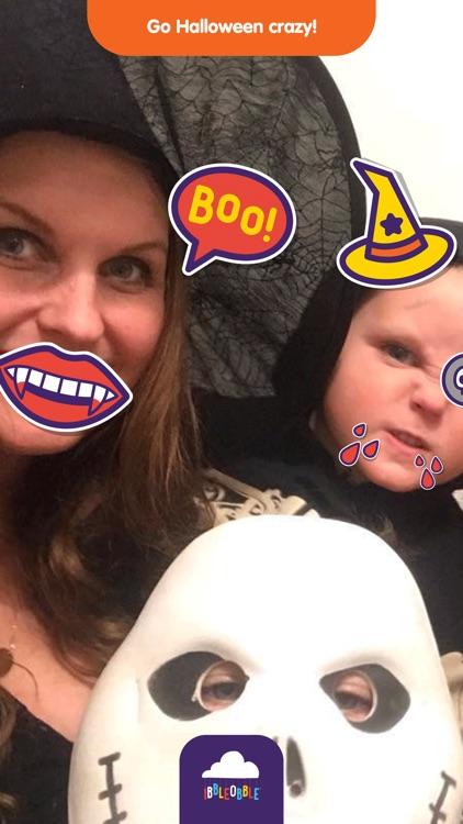 Ibbleobble Halloween Stickers screenshot-4