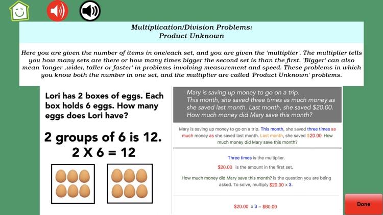 Math Word Problem Grades 2-3 screenshot-4