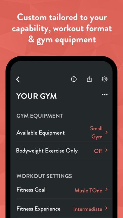 Fitbod Gym & Home Workout Log screenshot-5