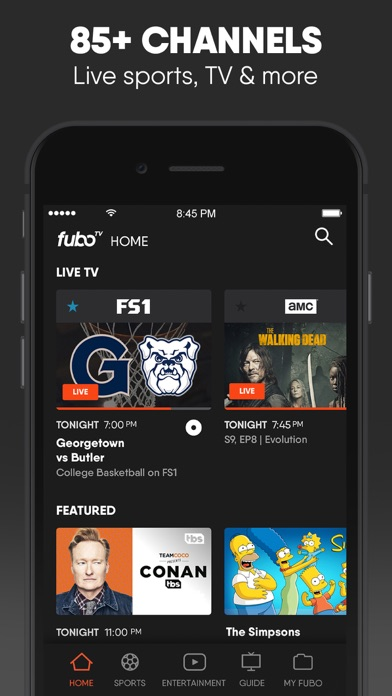 download fuboTV: Watch Live Sports & TV apps 8