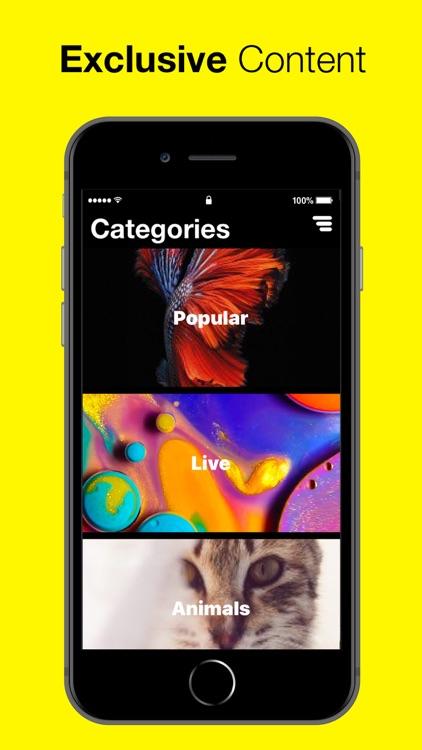 Screen Garage: Live Wallpapers screenshot-3