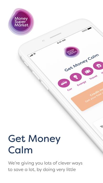 MoneySuperMarket screenshot one