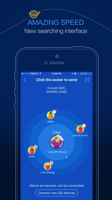 Screenshot for SHAREit - Connect & Transfer in United Arab Emirates App Store