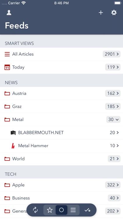 Fiery Feeds: RSS Reader screenshot-0