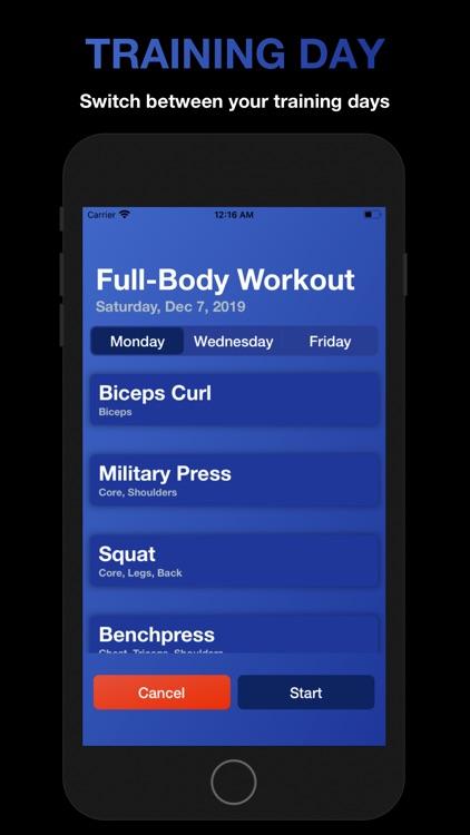 Fitness: Gym Workout Planner screenshot-5