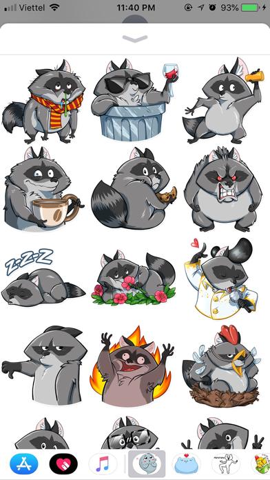 Fox Cute Funny Emoji Stickers screenshot 2